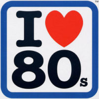 I love eighties logo