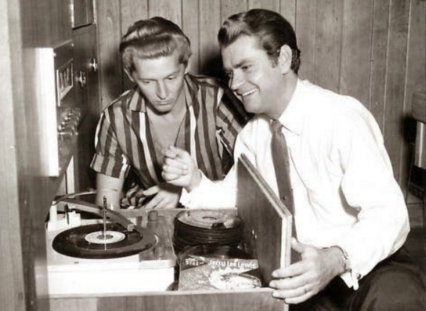 Jerry Lee Lewis and Sam Phillips