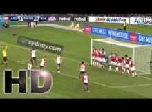 WATCH VIDEO: ARSENAL VS WESTERN SYDNEY WANDERERS 3-1 HIGHLIGHTS & ALL GOALS FRIENDLYMATCH 15/7/2017