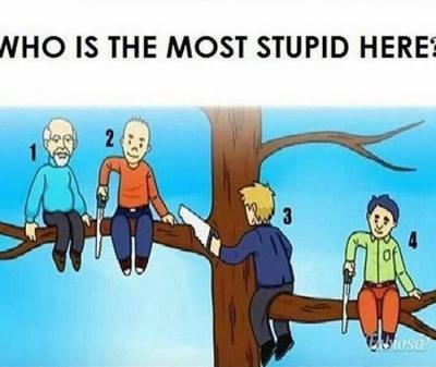 Photo Of The Day : Checkout This Photo & Tell Us Who You Think Is The Most Stupid