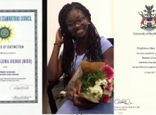 MP3 : Lady Who Left Nigeria Due To ASUU Strike Graduates From UK With 5.0 CGPA