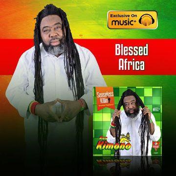 MP3 : Ras Kimono - Blessed Africa