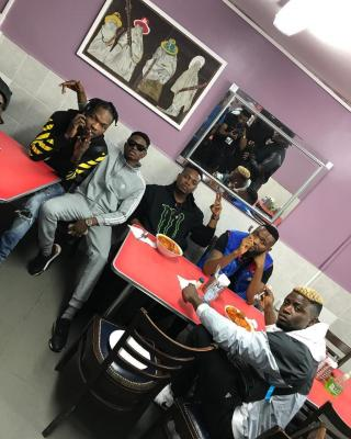 MP3 : Phyno & Olamide And Others Pictured At BBC London
