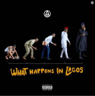 Ajebutter22 Unveils 'What Happens In Lagos' Official Album Art