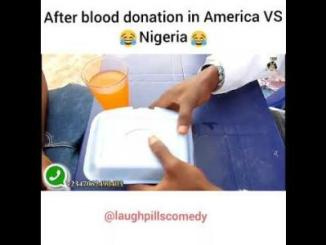 Video: LaughPills Comedy - Blood Donation (America vs Nigeria)