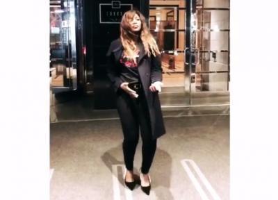 VIDEO: Genevieve Nnaji's 'Shaku Shaku' Game Is Strong