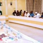 News: President Buhari In CLOSED DOOR Meeting With APC Governors (Photos)