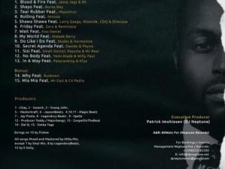 MP3 : DJ Neptune ft. MI Abaga, Jesse Jagz - Blood & Fire