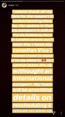 US Embassy Withholds Mr Eazi's International  Passport