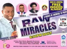 God Delight Gospel Assembly aka Free Indeed - Once in 3months Allnight (Titled Raw Miracle)