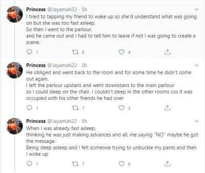 Nigerian Lady, Princess Narrates Story Of How Peruzzi Brutally Raped Her Years Ago