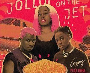 DJ Cuppy ft. Rema, Rayvanny - Jollof On The Jet (Lyrics)