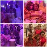 Photos from billionaire businessman, Rasaq Okoya's first wife, Kuburat's 77th birthday party