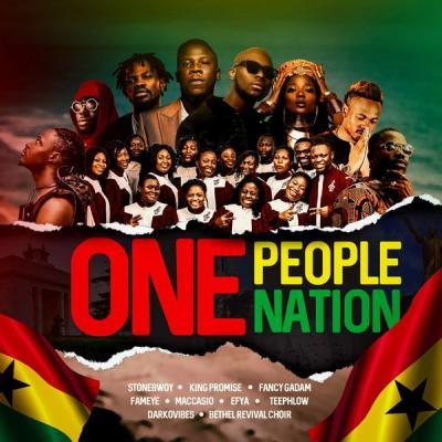 Stonebwoy ft. King Promise, Efya, Darkovibes, Fancy Gadam, Fameye, Maccasio, Teephlow, Bethel Revival Chior - One People, One Nation