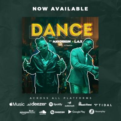 Mayorkun ft L.A.X - Dance body image