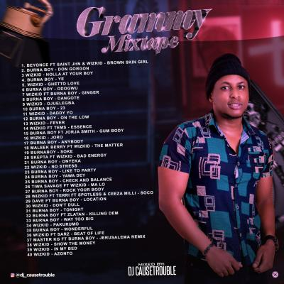 Mixtape: DJ Causetrouble - Grammy Mix
