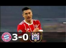 VIDEO: Bayern Munchen vs Anderlecht 3-0 – Highlights & Goals UEFA Champions League 12 September 2017