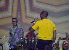 VIDEO: Wizkid & Davido Perform 'FIA' Together On Stage