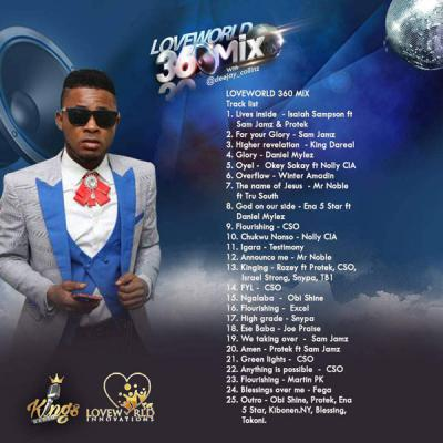 MIXTAPE: DJ Collinz - Loveworld 360 Mix