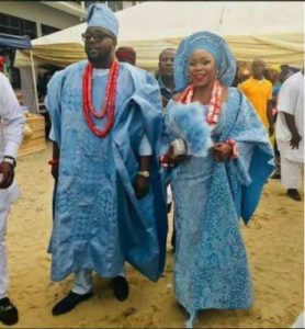 Omawumi & Tosin Yusuf Step Out For Traditional Marriage [SEE PHOTOS]