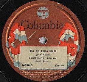 1914-St. Louis Blues-Handy-ColumbiaLabel-BessieSmith