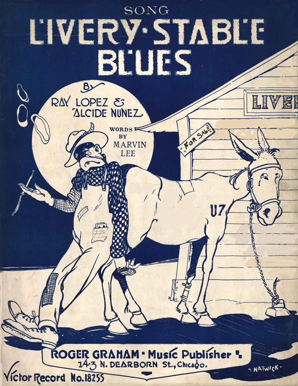 1917-LiveryStableBlues-sheetcover