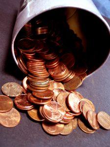 Marilynn Dawson's Musings - Counting Pennies