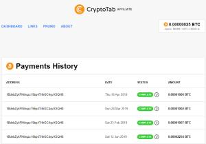 CryptoTabBrowser Pays