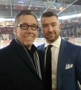 With NHL veteran Josh Gorges