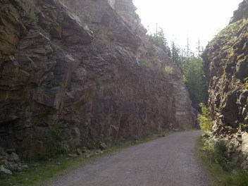 Songdove Books - Cliff-lined path