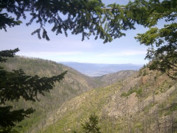 Songdove Books - Valley View from Myra Canyon