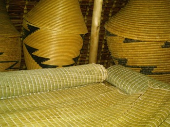 Songdove Books - Rwandan woven artwork