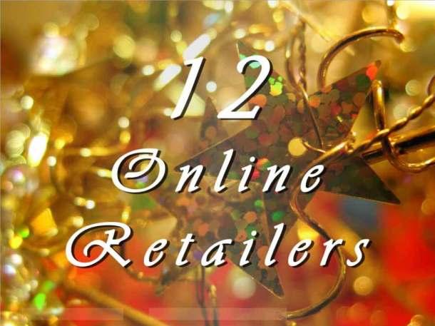 Songdove Books 12 Days of Christmas - Retailers