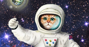 Sci-fi Book Tour of the Feline Kind!  ~ Space Kitties