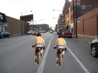 Cycling tandem