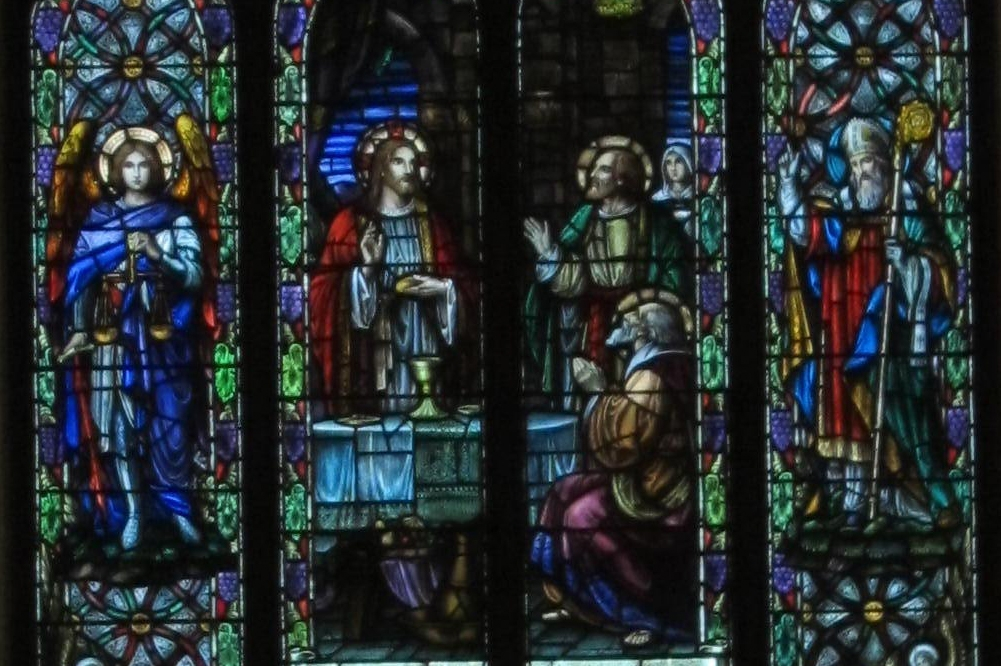 Songdove Books - Stained Glass Window