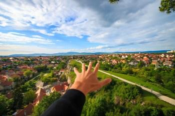 reach over city
