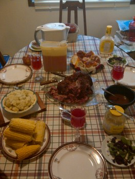 Thanksgiving Dinner 2012