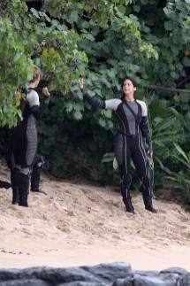 033Nouvelles Images Du Tournage De Hunger Games 2: Catching Fire/ L'Embrasement Sur L'Ile De Hawaï