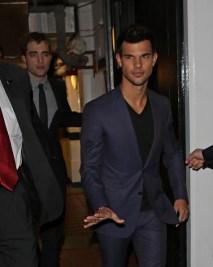 Twilight Cast Sightings In London - November 14, 2012