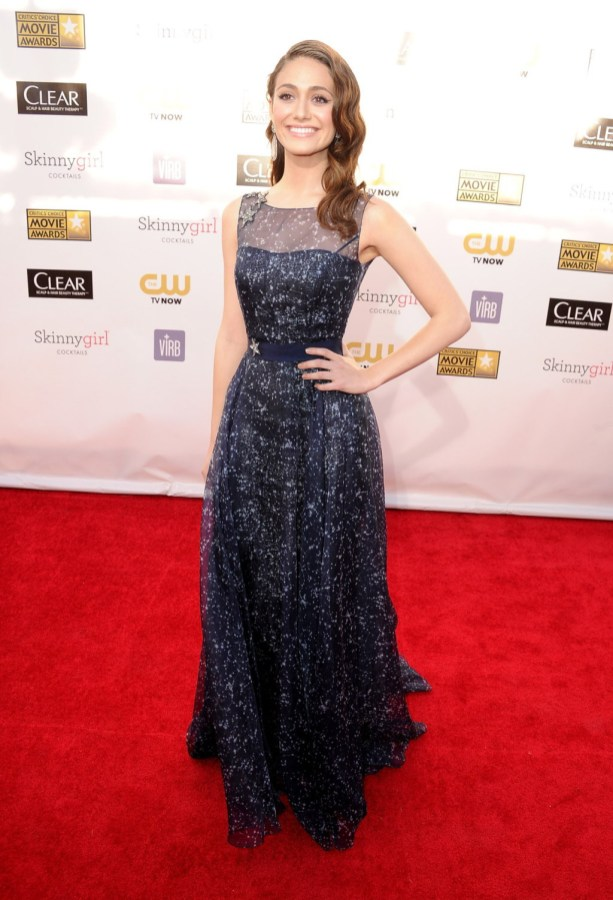 emmy-rossum-critics-choice-2013