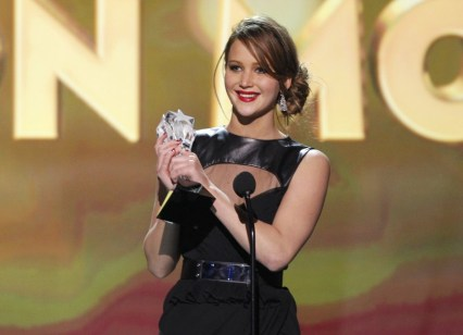 jennifer-lawrence-critics choice movie awards 2013