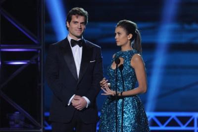 Nina Dobrev- Critic Choice Movie Awards - on scene