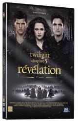 Twilight chapitre 5 Révélation 2eme partie - DVD simle