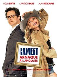 Gambit, arnaque à l'anglaise - Affiche