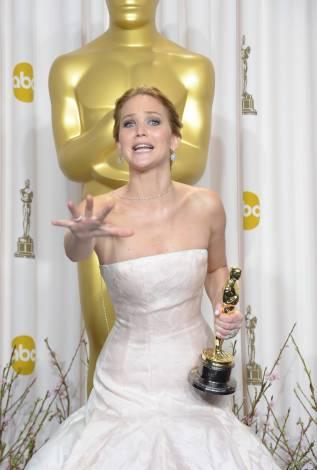 Jennifer Lawrence - L'Après Oscar - La Press Room 003