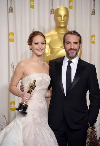 Jennifer Lawrence - L'Après Oscar - La Press Room 005