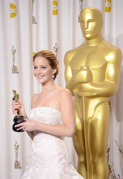 Jennifer Lawrence - L'Après Oscar - La Press Room 010