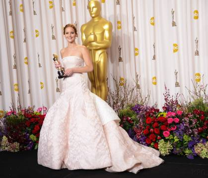Jennifer Lawrence - L'Après Oscar - La Press Room 011