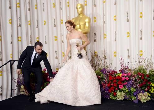 Jennifer Lawrence - L'Après Oscar - La Press Room 022